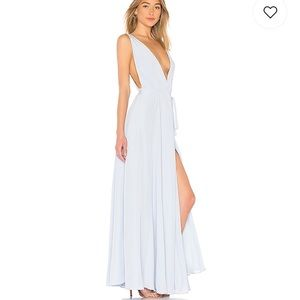f012f9d8ba0 Lovers and Friends Leah Gown in Periwinkle
